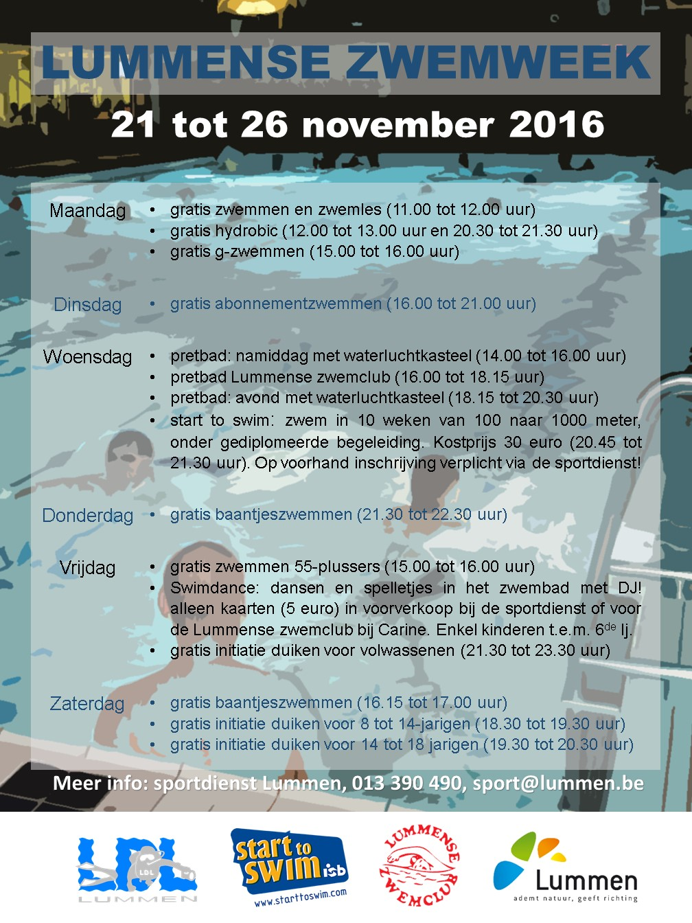 Affiche-lummense-zwemweek-2016